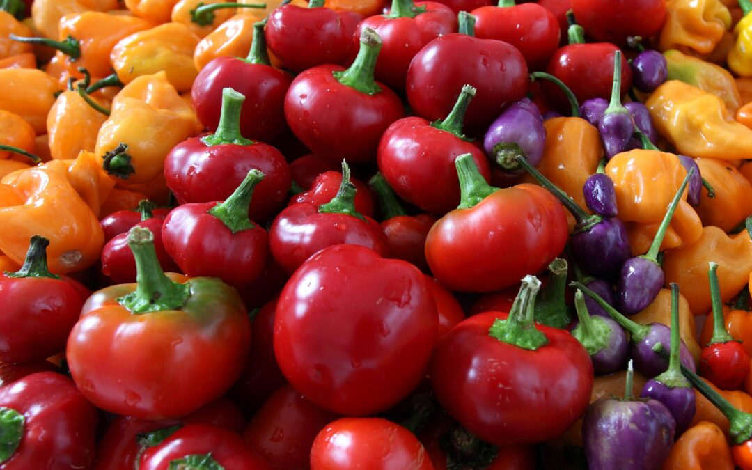 Health Benefits of Peppers and Chillies